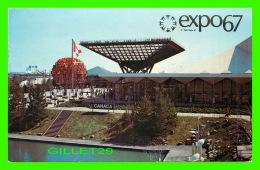 EXPOSITIONS - EXPO67, MONTRÉAL - LE PAVILLON DU CANADA - No EX200 - - Expositions