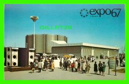 EXPOSITIONS - EXPO67, MONTRÉAL - LE PAVILLONCANADIEN PACIFIQUE-COMINCO - No EX226 - ANIMÉE - - Expositions