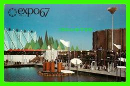 EXPOSITIONS - EXPO67, MONTRÉAL - LES INDUSTRIES CANADIENNES A L'EXPO - No EX224 - ANIMÉE - - Expositions