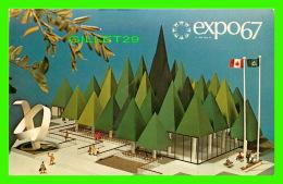 EXPOSITIONS - EXPO67, MONTRÉAL - PAVILLON DE L'ASSOCIATION CANADIENNE DES PATES & PAPIER - No EX112A -  PHOTO INVERS - Expositions