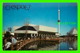 EXPOSITIONS - EXPO67, MONTRÉAL - LE JARDIN DES ÉTOILES - No EX246 - ANIMÉE - - Expositions
