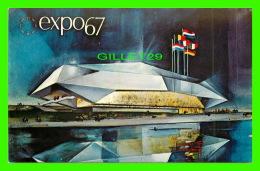 EXPOSITIONS - EXPO67, MONTRÉAL - PAVILLON DE LA COMMUNAUTÉ EUROPÉENNE - No EX137  - - Expositions