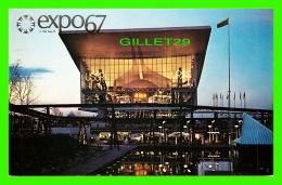 EXPOSITIONS - EXPO67, MONTRÉAL - LE PAVILLON DE L'UNION SOVIETIQUE - No EX250  - - Expositions