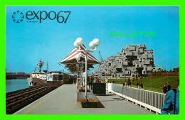 EXPOSITIONS - EXPO67, MONTRÉAL - VUE DE LA CITE DU HAVRE -  No EX258  - - Expositions
