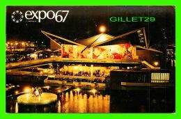 EXPOSITIONS - EXPO67, MONTRÉAL - PAVILLON DE TRINIDAD & TOBAGO ET GRENADE -  No EX260  - - Expositions