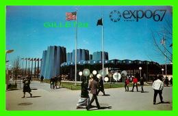 EXPOSITIONS - EXPO67, MONTRÉAL - LE PAVILLON DE L'ÉTAT DE NEW YORK -  No EX261  - - Expositions