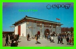 EXPOSITIONS - EXPO67, MONTRÉAL - LE PAVILLON DE LA REPUBLIQUE DE CHINE -  No EX262  -  ANIMÉE - - Expositions