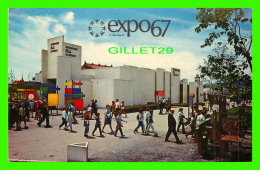 EXPOSITIONS - EXPO67, MONTRÉAL - PAVILLON SERMONS DE LA SCIENCE -  No EX308  - L'HOMME ET SON CRÉATEUR - - Expositions