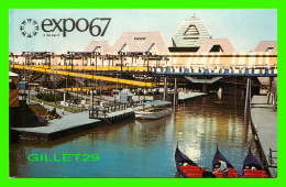 EXPOSITIONS - EXPO67, MONTRÉAL - VUE GENERALE DE L'ILE NOTRE-DAME-  No EX221  - ANIMÉE - - Expositions