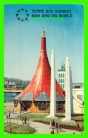EXPOSITIONS - EXPO67, MONTRÉAL - LE PAVILLON DE L'ETHIOPIE -  No EX219  -  CIRCULÉE EN 1967 - - Expositions