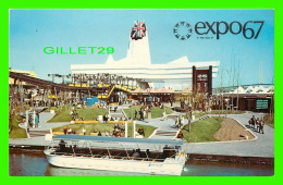 EXPOSITIONS - EXPO67, MONTRÉAL - PAVILLON DE LA GRANDE-BRETAGNE -  No EX212 - CIRCULÉE EN 1967 - - Expositions