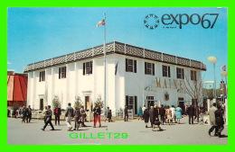 EXPOSITIONS - EXPO67, MONTRÉAL - LE PAVILLON DE L'ETAT DU MAINE -  No EX236 - CIRCULÉE EN 1967 - - Expositions