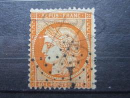 """VEND TIMBRE DE FRANCE N° 38 , ORANGE FONCE , ETOILE """" 1 """" !!! - 1870 Siege Of Paris"""