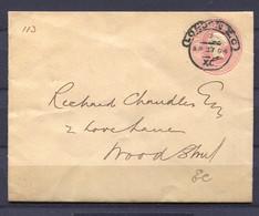 GB, Grossbritannien,  1884  Briefganzsache - Briefe U. Dokumente