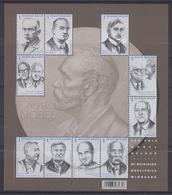 BE 2016 - BL 244 XX Ou 4636/45 XX  - Nobel En Belgique - Les 10 Prix Nobel Belges - Belgique