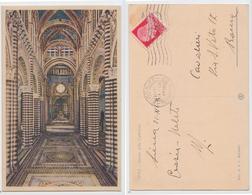 Siena - Interno Del Duomo E Scalinata Di S. Giovanni, A Colori - Siena