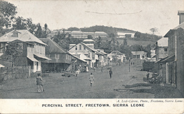 FREETOWN / SIERRA LEONE - 1912 , Percival Street - Sierra Leone