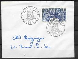 FDC   1er Jour Circulée Senlis   Le 10/11/1967  N° 1537 Hugues Capet   B/TB ...soldé à Moins De 20 % ! ! ! - FDC