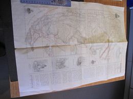 CARTE. MISSIONI SALESIANEDELLA PATAGONIA SETTENTRIONALE - Cartes Géographiques
