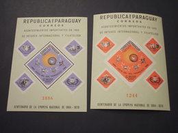 PARAGUAY - 2 BF 1966 AVVENIMENTI - NUOVO(++) - Paraguay