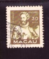 Macau  1951 - Personalities  ST Nr. 375  Côte € 5.00 - Macao