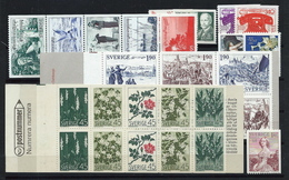 Sweden  , Nice Mint Lot On 1 Big Stock-card   (as Per Scan ) MNH - Neufs