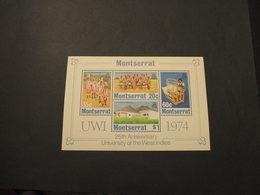 MONTSERRAT - BF 1974 UNIVERSITA' - NUOVO(++) - Montserrat