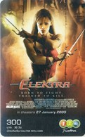 Mobilecard Thailand - 12Call - Movie,Film,cinema  - Elektra (2) - Kino