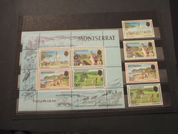 MONTSERRAT - BF 1970 TURISMO 4 VALORI + BF - NUOVO(++) - Montserrat