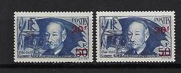 """FR YT 493 & 493a """" Clement Ader Surch. Papier épais Et Mince """" 1941 Neuf** - France"""