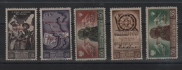 ITALIA CORPO POLACCO 1946 - SOPRAST. HONOR THE FOUR FREEDOMS Serie Cpl 5 Val. MLH - 9. WW II Occupation (Italian)