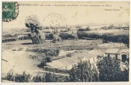 (P76) - MONTPELLIER - 2EME GENIE EXPLOSIONS SUCCESSIVES DE TROIS FOUREAUX DE MINES - Montpellier
