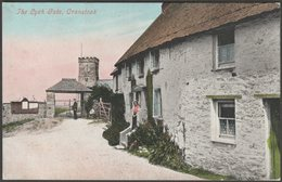 The Lych Gate, Crantock, Cornwall, C.1905 - Argall's Postcard - England
