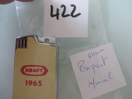 Briquet Ancien , MUSICAL,plusieurs Scans  (( Lot 422 )) - Aanstekers