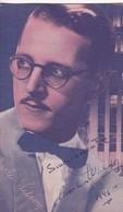 CHARLES WILSON. AUTOGRAPHE AUTOGRAFO SIGNEE SIGNATURE AUTHENTIQUE ORIGINAL.-BLEUP - Autographes