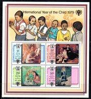 BF48 - SWAZILAND 1979 , Il Foglietto Years Of The Child ** - Swaziland (1968-...)