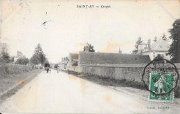 St Saint-Ay (Loiret) - Cropet En 1909 - Edition Ecosse - France