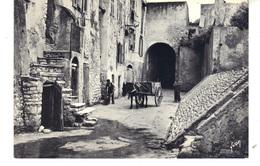 """Carte Postale Grand Format 17 Cm X 11,5 Cm - """"L'Art De La Photo"""" Par Yvon -  En Corse . Vieille Rue De BONIFACIO - France"""