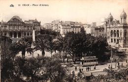 ALGERIE - ORAN PLACE D'ARMES - Oran