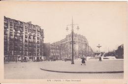 CPA -  454. PARIS Place Daumesnil - Places, Squares
