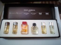 Coffret Miniature Parfum Dolce Et Gabbana Parfum,tres Rare - Miniature Bottles (in Box)