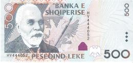Albania - Pick 72 - 500 Leke 2007 - Unc - Albanie
