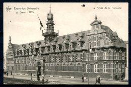 CP   Gand  --  Expo 1913  --  Palais De La Hollande  --  Ed. Star - Gent