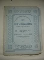 GIEN SIX PLANCHES COLORIEES CERAMIQUE USINE DU GRAND-CHEMIN ST MARTIN SUR OCRE Daté 1897 - Gien