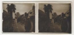 3  Photo Stereoscopique Exposition Coloniale - Plaques De Verre