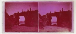 3 Photo Stereoscopique  Bords De Mer - Plaques De Verre