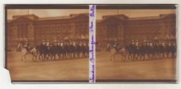 Photo Stereoscopique  Londre Buckimham Palace - Plaques De Verre