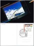 Tarjeta Entero Postal EXPO'88 AUSTRALIA - MONORAIL. Brisbane 1988 - Universal Expositions