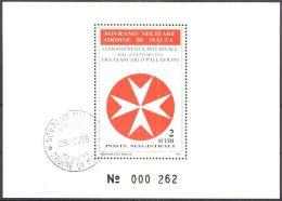 ORDEN VON MALTA 1988 Block O Used - Malta (Orden Von)