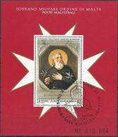 ORDEN VON MALTA 1993 Block O Used - Malta (Orden Von)